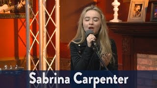 Sabrina Carpenter Performs 'Run and Hide'