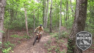 Mountain Biking at 5 Points on Lookout Mountain