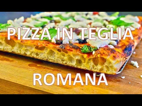 Pizzata di teglia romana