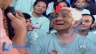 Wowowin: 100-year-old na lola, pinahanga si Willie Revillame