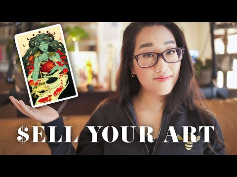 , title : 'Print On Demand POSTERS! How To Sell Your ART Prints Online 2020