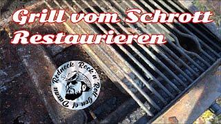 Alten Grill Recyceln (Teil1) Gasgrill Umbau zum Smoker/Kohlengrill