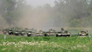 Танковая мощь Новороссии... Батальон Дизель