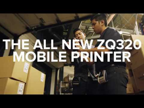 Zebra ZQ300 Series Robust Mobile Printers for Indoor or Outdoor Usage video thumbnail