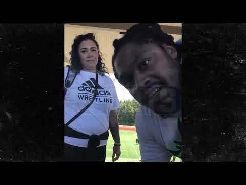 Marshawn Lynch In Confrontation with Football Mom, 'Is There a Man Here?' | TMZ Sports