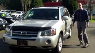 Review: why a 2006 Toyota Highlander Hybrid Limited under $7000 is an amazing buy