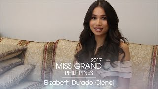 Elizabeth Clenci Miss Grand Philippines 2017 Introduction Video