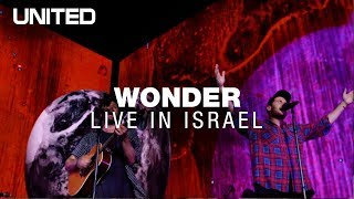 "Watch hillsong united's new single ""WONDER"" live from Israel Wonder"