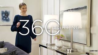 Video about the Camile Set of 2 Table Lamps