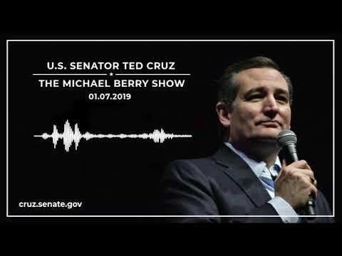 Sen. Cruz Discusses the EL CHAPO Act, Term Limits, Foreign Affairs on The Michael Berry Show