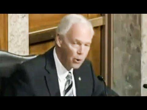 Ron Johnson Goes Full Q During Insane Capitol Hearing