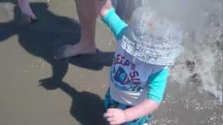 Walking in the water