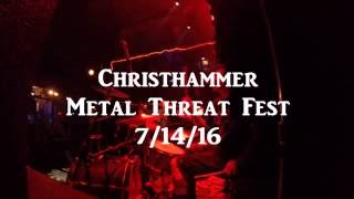 Angelcorpse (Christhammer) Metal Threat Fest Chicago 7/14/16