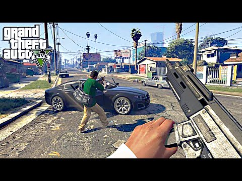 GTA 5 – 60 FPS First Person Mode Gameplay Trailer – Grand Theft Auto V PS4/Xbox One/P