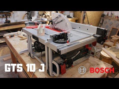 Sierra Bosch GTS 10 J