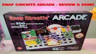 What is Snap Circuits Arcade - Learn Electronics and Engineering Science - Demo and Review Video