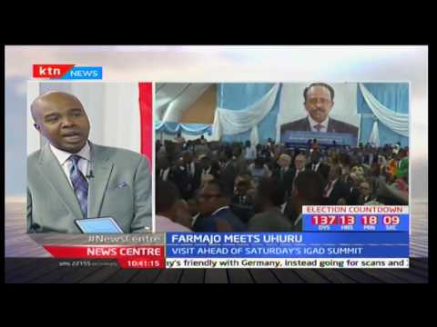 ANALYST ABDIRIZAK: What's at stake in Farmajo-Uhuru meeting