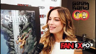 2017 FAN eXpo Canada | Geek Hard Interview - Part 1 (02.09.17)