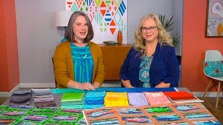 Heather Grant interviews Luana Rubin on Cuba and color trends on Fresh Quilting, Episode 108