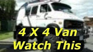 4X4 Dodge Van