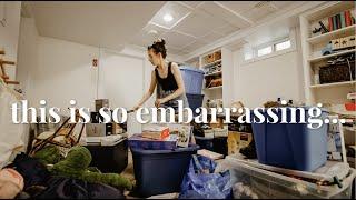EXTREME CLEAN & DECLUTTER // Storage Room Transformation