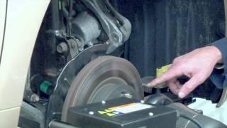SCC Automotive Training - Pro Cut On Car Brake Lathe