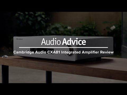 External Review Video L6PN2dKiOSY for Cambridge Audio CXA81 Integrated Amplifier