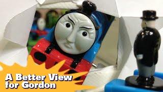 """トーマス プラレール ガチャガチャ ゴードンのまど Tomy Plarail Thomas """"A Better View For Gordon"""""""