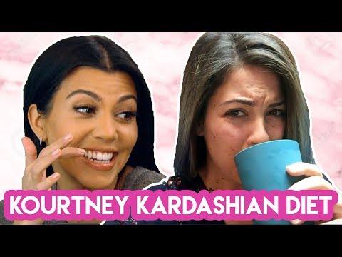 I Ate Like Kourtney Kardashian For A Week