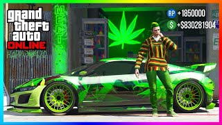 Happy 420 Update In GTA 5 Online...Celebrate With FREE Items, Bonus Money Payouts & MORE! (420 DLC)