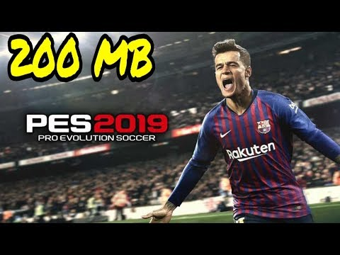 [200 MB] Download Pes 2019 PPSSPP Android OfflineBest Graphics New Kits &  Update   Football Game