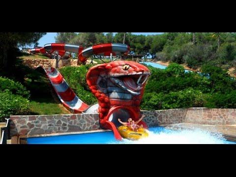 El parque Aquapolis de Cullera