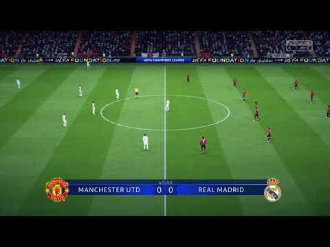FIFA 19 DEMO GAMEPLAY | Manchester United vs Real Madrid (FIFA 19 Champions League Gameplay)