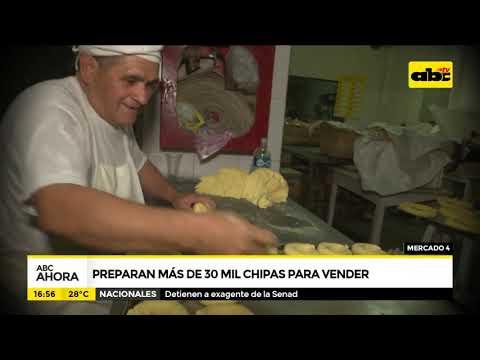 Preparan más de 30.000 chipas en el Mercado 4