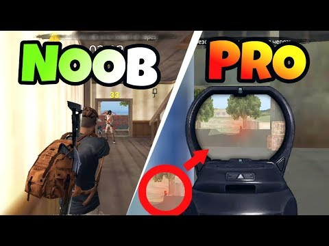 FREE FIRE - NOOB vs PRO (FUNNY & WTF MOMENTS)(EPIC FAILS) MOBILE GAMEPLAY (видео)