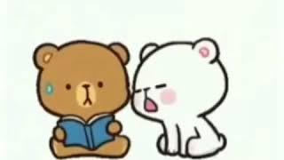 Teady bear Emoji ll cute Emojis ll Beautiful Emojis Animation ll gift animation ll by zidi Mano tv