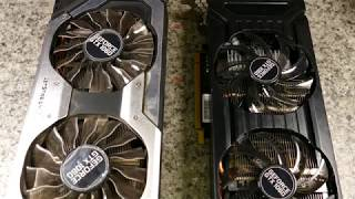 Palit GTX 1060 Jetstream vs DUAL