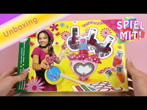 Parfum selber machen - SES Creative Perfum Box Unboxing - parfum selber herstellen