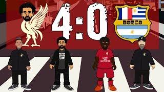Ливерпуль - Барселона 4-0 Обзор матча (Мультбол)
