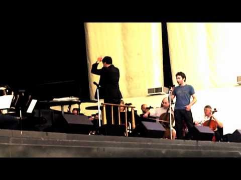 Josh Page 22 - O Sole Mio - Jackie Evancho Soundcheck - Atlanta Symphony Orchestra