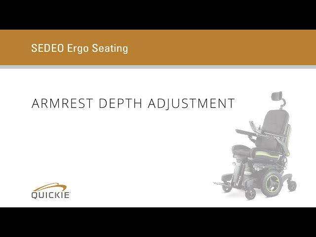 Quickie Q700 F SEDEO ERGO Front-Wheel Powered Wheelchair Video