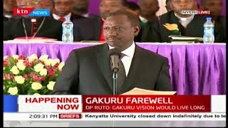DP William Ruto's address to opposition leader Raila Odinga