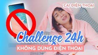 THỬ THÁCH 24H KHÔNG DÙNG ĐIỆN THOẠI   24H NO PHONE CHALLENGE   HƯƠNG WITCH