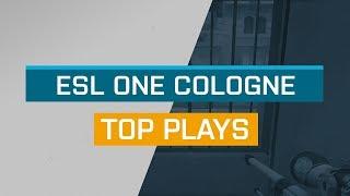 CS:GO - Top Plays: ESL One Cologne 2018