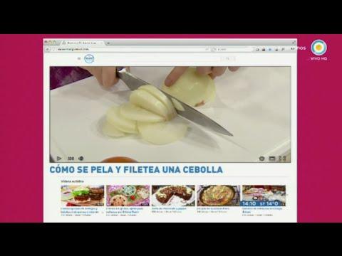 Cómo filetear cebollas