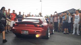 RX7 Anti-Lag! | Liberty Walk Summer Bash 2