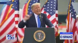 """Reporter: """"Who is the most famous person in the world? """"Donald Trump:   Jesus Christ!!!!"""
