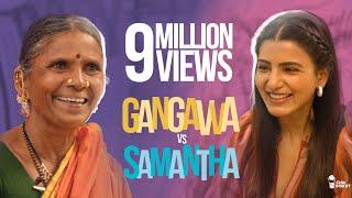 Samantha Akkineni Vs Gangavva | Ft. Nandini Reddy | My Village Show | Chai Bisket
