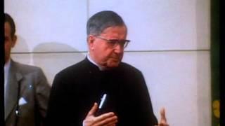 """Vídeo de sant Josepmaria: """"Amor a la llibertat"""""""