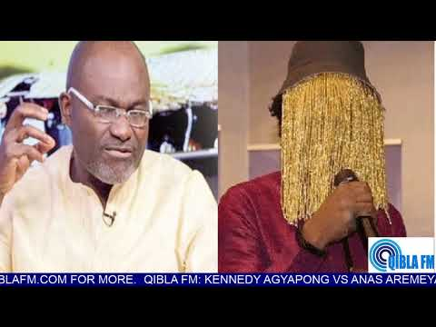 Anas Aremeyaw Anas vs Kennedy Agyapong: Who is the PROBLEM?